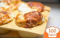 Фото рецепта: «Сырное суфле с белками от Джулии Чайлд»