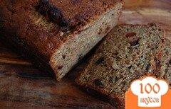 Фото рецепта: «Хлеб с цуккини, вишней и орехами»