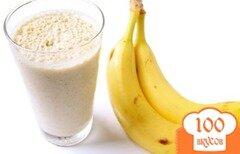 Фото рецепта: «Банановый смузи»