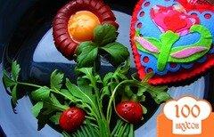 Фото рецепта: «Яичница-цветок»