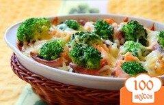 Фото рецепта: «Рыба с брокколи»