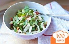 Фото рецепта: «Овощной салат с курицей»