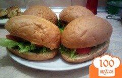 Фото рецепта: «Вегетарианские гамбургеры»