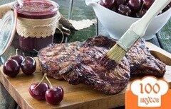 Фото рецепта: «Вишневый соус для барбекю»