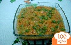 Фото рецепта: «Горошек с морковью в молоке»