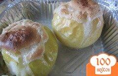 Фото рецепта: «Запечные яблочки с безе»