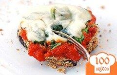 Фото рецепта: «Запеченные баклажаны с сыром»