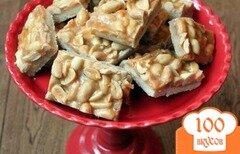 Фото рецепта: «Пирожное с соленым арахисом»