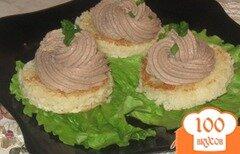 Фото рецепта: «Закуска с печеночным паштетом»