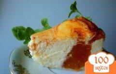 Фото рецепта: «Творожник с хурмой»