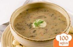Фото рецепта: «Грибной суп с маслятами»