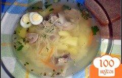Фото рецепта: «Легкий суп с перепелкой»
