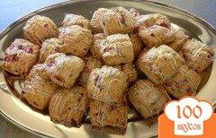 Фото рецепта: «Клубничное печенье с бальзамической глазурью»