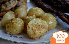 Фото рецепта: «Молодой картофель с горчицей»