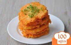 Фото рецепта: «Морковные оладушки»