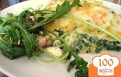 Фото рецепта: «Лазанья из семги и шпината»