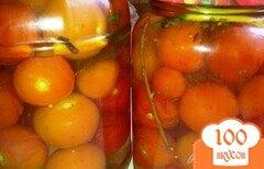 Фото рецепта: «Маринованные помидоры черри»