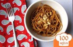 Фото рецепта: «Кунжутные спагетти»