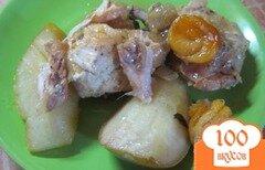 Фото рецепта: «Тажин с курицей и грушами»