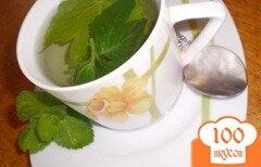 Фото рецепта: «Чай с мятой и листом черной смородины»