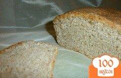 Фото рецепта: «Ржано-пшеничный хлеб с сыром»