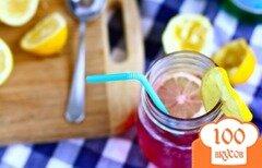 Фото рецепта: «Черничный лимонад»