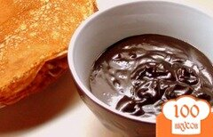 Фото рецепта: «Шоколадно-карамельный соус для блинчиков и не только. Готовимся к Масленице.»