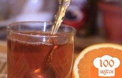 Фото рецепта: «Ароматный чай с имбирем»