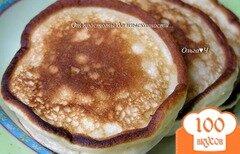 Фото рецепта: «Оладьи на домашнем йогурте»