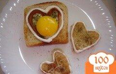 "Фото рецепта: «Завтрак ""Любимому""»"