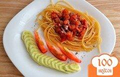 Фото рецепта: «Паста с красным соусом»