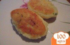 Фото рецепта: «Картофельный кордон - блю»