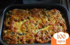 Фото рецепта: «Запеканка из кабачков»