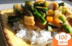 Фото рецепта: «Жаркое из курицы с овощами»