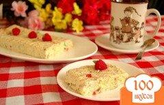 Фото рецепта: «Пудинг из сливок и бисквита»