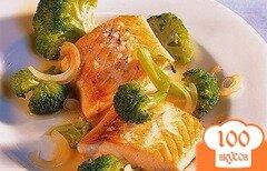 Фото рецепта: «Сёмга с брокколи»