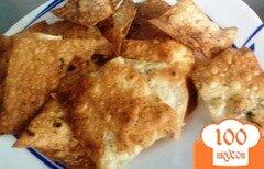 Фото рецепта: «Чипсы из лаваша»