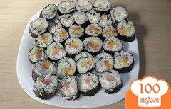 Фото рецепта: «Суши в домашних условиях»