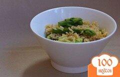 Фото рецепта: «Спаржа с рисом»