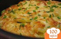 Фото рецепта: «Картофель с вешенками»