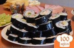 Фото рецепта: «Суши с лососем»