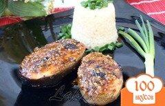 Фото рецепта: «Сёмга в соево-горчичном маринаде»