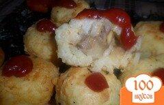 Фото рецепта: «Рисовые шарики с начинкой»
