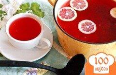 Фото рецепта: «Клюквенный чай»