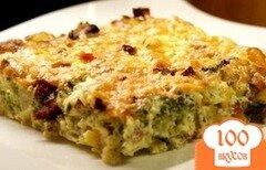 Фото рецепта: «Опята с картошкой в духовке»