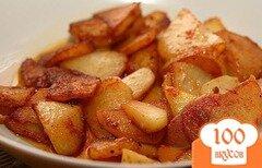 Фото рецепта: «Картошка жареная в мультиварке»