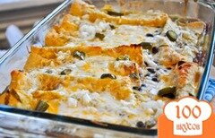 Фото рецепта: «Энчилада с фасолью и специями»