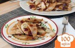 Фото рецепта: «Куриные грудки с грушей в бальзамическом соусе»