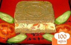 Фото рецепта: «Паштет из говяжьей печени с сыром»