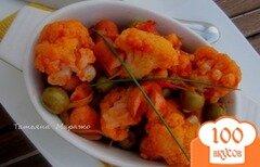 Фото рецепта: «Цветная капуста с оливками»